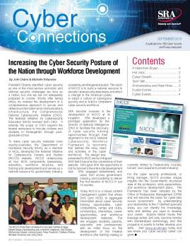 Article I drafted for the newsletter describing the NICCS Program.