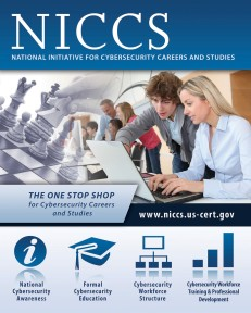 NICCS promotional poster.